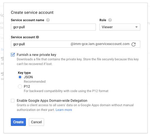 Using Google Container Registry (GCR) with Minikube · Ryan